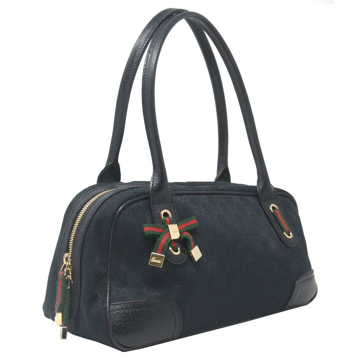 Gucci Boston Princy Black Guccissima Monogram Sm… - image 2