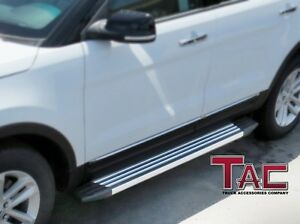 Image Is Loading Tac 2017 Ford Explorer Aluminum Running Boards