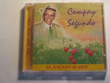 Compay Segundo - Un Jardinero de Amor CD 18 tracks (SEALED)