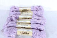 Brunswick Tapestry Wool Yarn Lot Of 6 - 40 Yard Skeins 1794 Lt Wisteria Lot 3074