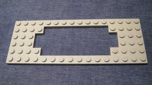 LEGO Eisenbahn alt 4,5V 12V Platte Grau Rahmenplatte