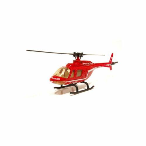 Burago Bura32040d Helicoptere Sécurité Civile Rouge 1//50