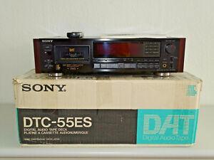 Sony DTC-55ES High-End DAT-Recorder Schwarz in OVP, FB&BDA, 2 Jahre Garantie