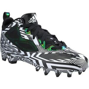 brand new 96971 fe309 Image is loading NEW-Mens-ADIDAS-RGIII-Carmouflage-Black-White-Molded-