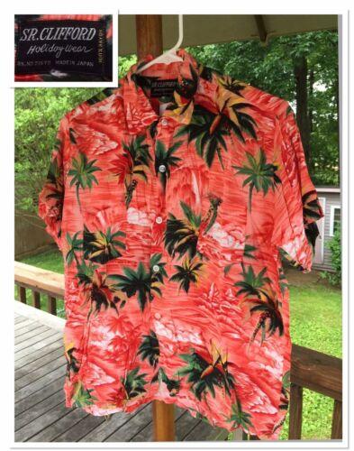Vintage 50's SR CLIFFORD Shirts Collectible Hawaii