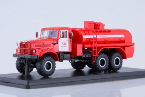 USSR RUSSIAN CAR SSM SSM1180 1:43 KRAZ-255B FIRE TANK AC-85