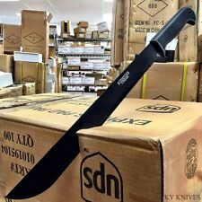 "22"" TACTICAL SURVIVAL Fixed Blade NINJA MACHETE Hunting Sword Full Tang Knife -F"