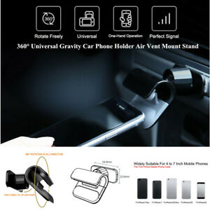 360-Adjustable-Universal-Gravity-Car-Truck-Phone-Holder-Air-Vent-Mount-Stand-Kit