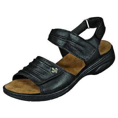 Details zu Rieker Damen Sandale Beige lose Einlage Schuhe 64560 42