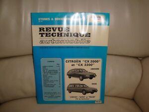 RTA Citroën CX 2000 / 2200 Essence - Revue Technique Automobile - France - État : Occasion: Objet ayant été utilisé. Consulter la description du vendeur pour avoir plus de détails sur les éventuelles imperfections. ... - France