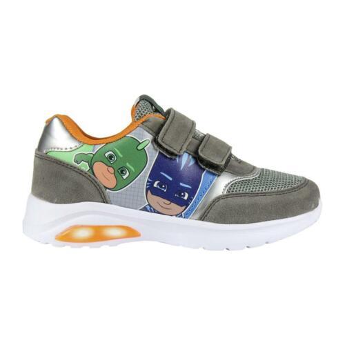 PJ Masks Kids Led Light Sneakers Shoes Trainers  Original Licensed PJ Masks S...