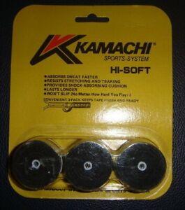 KAMACHI-Hi-Soft-OverGrip-Tennis-Badminton-Rackets-Racquets-OverGrips-Grips