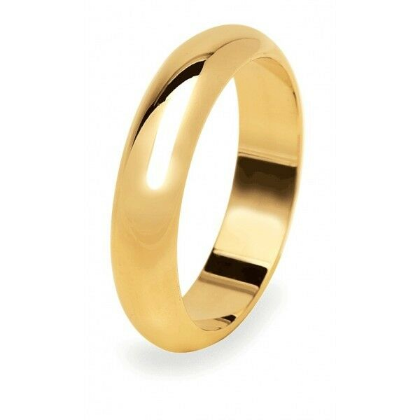 Fede Nuziale UNOAERRE 10 grammi gold yellow Classica Matrimonio