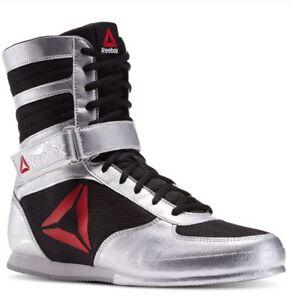 Hombre Título Acerca Reebok Detalles Platanegroblanco Original De Botas Pat Bd1346 Zapatos Para Boxeo Mostrar n0wv8mON