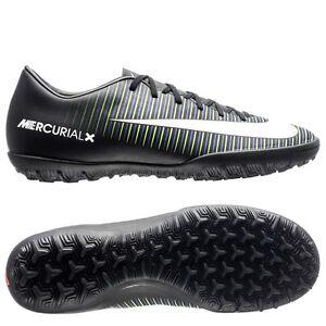 Nike Mercurial Victory VI TF Turf 2017 Soccer Shoes Black   Green ... 2034718bd1186
