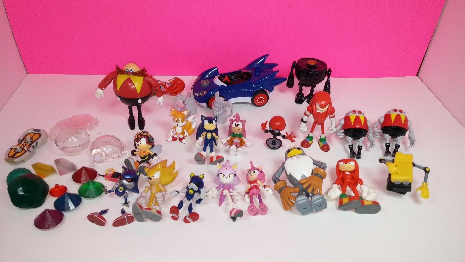 Sonic The Hedgehog Jazwares Mini Action Figure Lot Dr. Eggman Rare
