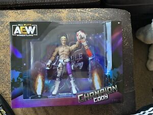 AEW Cody Rhodes TNT Champion Ringside Exclusive New In Box In Hand