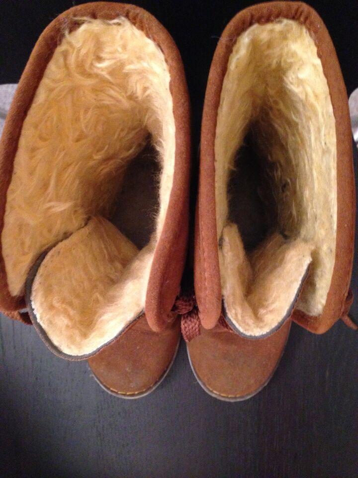 Vinterstøvler, str. 36, Brun