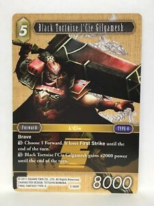 Noir-Tortue-L-039-Cie-Set-Bd-034-Gilgamesh-3-080R-Final-Fantasy-Ff-TCG-Opus-III-3