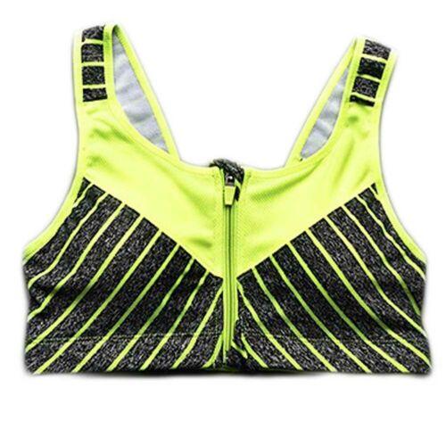 Mujeres Dama Sin Costuras Push Up Sujetador Deportivo Top Chaleco Gimnasio Fitness Yoga Correr Shaper