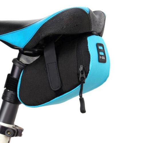 Bike Rear Seat Pack Bicycle Saddle Bag Waterproof Bicycle Storage Tail Bag NEW