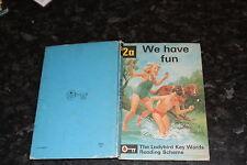 Ladybird Key Words  Reading Scheme Peter & Jane 2a We have fun 24p
