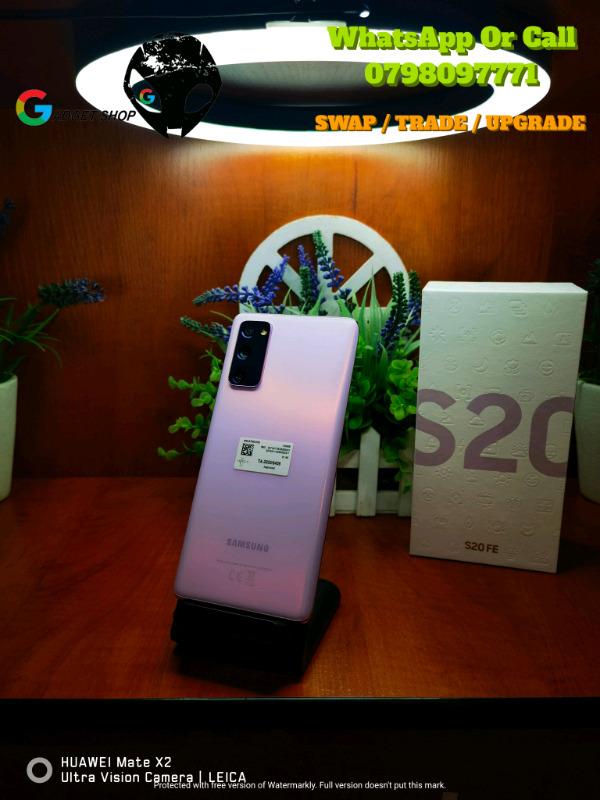 Samsung Galaxy S20FE ( Fan Edition) 128GB Dual Sim - Cloud Lavender
