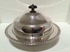 Quality Victorian Silver Plate EPNS Lidded Muffin Dish by Harrods London