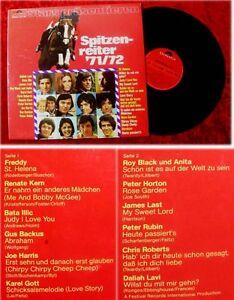LP Polydor Spitzenreiter 1971 1972 Daliah Lavi Freddy Q