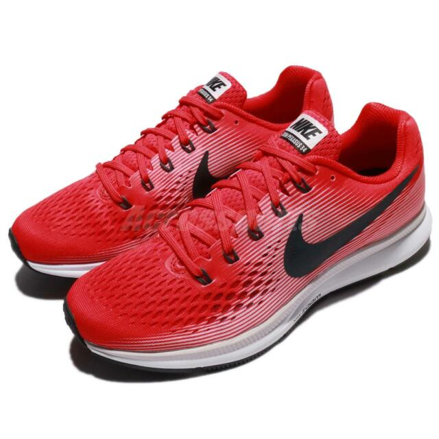 los angeles 42dee 1736c Nike Air Zoom Pegasus 34 Speed Red Black Men Running Shoes Sneakers 880555 -602