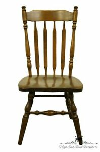 About A Chair 12 Side Chair.Details About Ethan Allen Antiqued Pine Old Tavern Cattail Back Dining Side Chair 12 6011