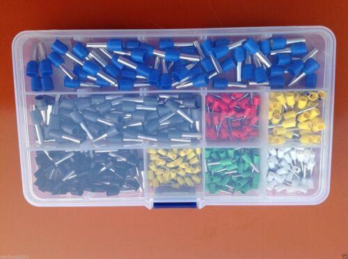 400x Kabelschuhe Quetschverbinder Steckverbinder Sortiment Flachstecker Set