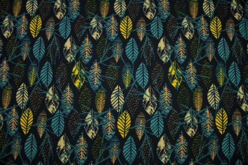 Softshell Herbstblätter 1 Einheit = 0,5 m Meterware