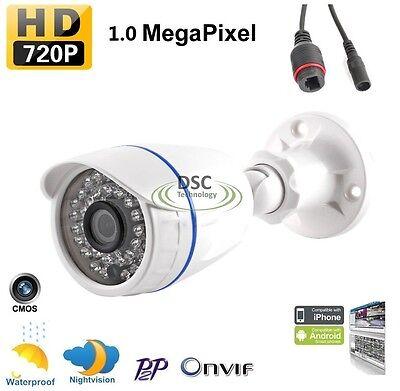 LESHP 1.0MP WIFI Wireless Bullet Security IP Camera Outdoor Waterproof O96