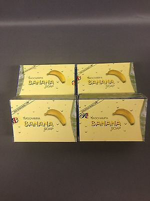 Soap Bars Banana Nag Champa Satya 75 grams Vegan lot 1 2 3 or 4