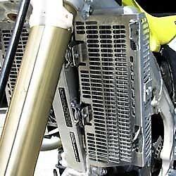 Devol Aluminum Radiator Guards #0101-5402 Yamaha YZ250 2-Stroke//YZ125 1996-2001