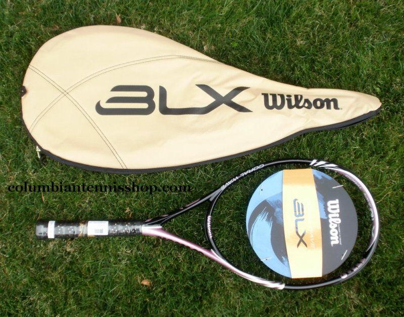 Nuevo Wilson Blx Coral Onda Encordada Raqueta De Tenis 1 8 1 4 3 8 1 2 3 W caso  219