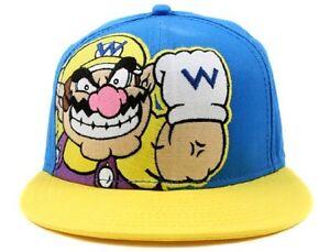 889676e3b3e10 New Nintendo WARIO Super Mario Era Snapback Hat Adjustable Mens ...