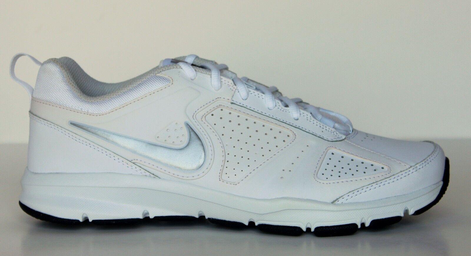 Nike t-lite xi xi xi Uomo bianco lthr crosstrainer scarpe 616544-100 nwd volume 6 15 m b63305