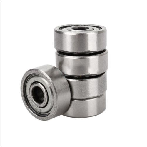4 x 13 x 5mm Shielded Micro Mini Small Wheel Ball Bearings 624Z 5 Pcs L6
