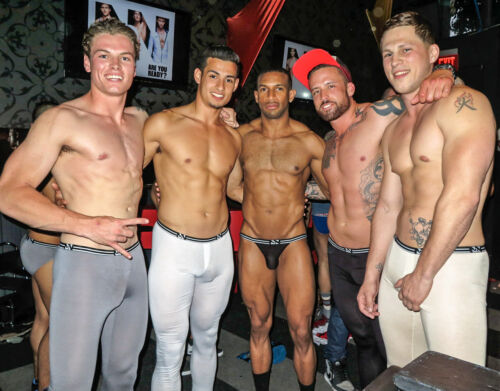 N2N Bodywear Air Skin Pants Men/'s Long John Leggings 2 Colors