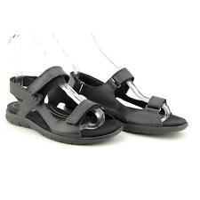 Ecco Babett Sandal Women US 6 Black Slingback Sandal Blemish  17432