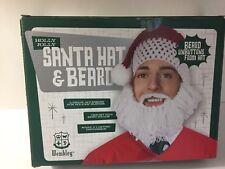 427a2390a2d Santa Hat   Beard Knitted Holly Jolly Wembley Christmas Holiday -New in  Box! Santa Hat   Beard Knitted Holly Jolly Wembley Christmas Holiday