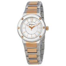 Ferragamo Women's FIG040015 F-80 Stainless Steel Bracelet Watch