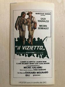 2019 Neuestes Design Poster Plakat Aufkleber Sticker 1978 Marcello Danon Il Vizietto Käfig Vollnarren Online Shop Film-fanartikel