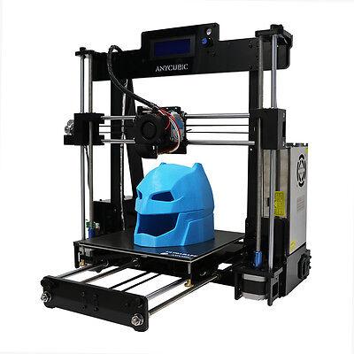 ANYCUBIC 3D Drucker Kit Verbessert Prusai3 Acrylrahmen DIY 3D Printing 210x250mm