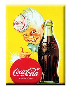Décoration Murale Plaque Publicitaire Métal Coca Cola 30 X
