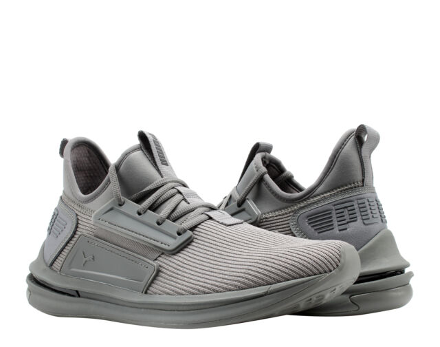 2019 mejor venta famosa marca de diseñador colores delicados Puma IGNITE Limitless SR Quite Shade/Grey Men's Running Shoes ...