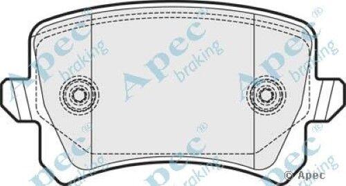 1x oe qualité remplacement APEC essieu arrière plaquettes de frein set