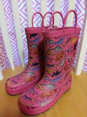 girls rain boots size 10